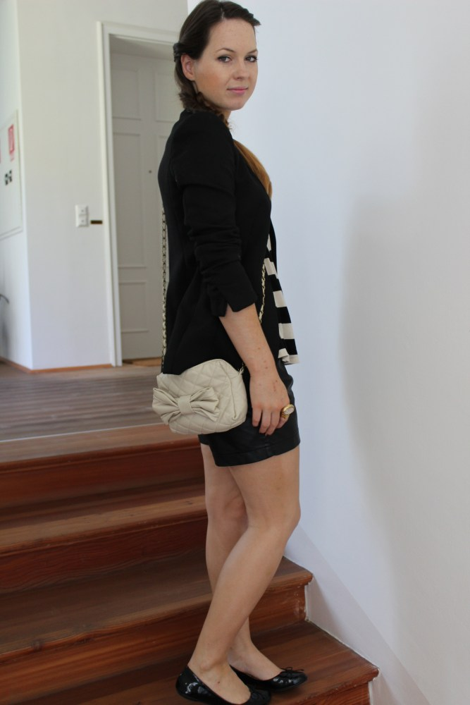 Day-To-Night Outfit [ Leder-Short ] (2/6)
