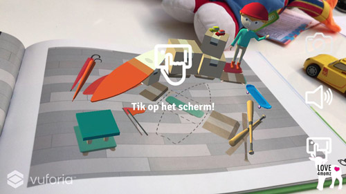 Augmented reality kinderboek popupboek love4momz