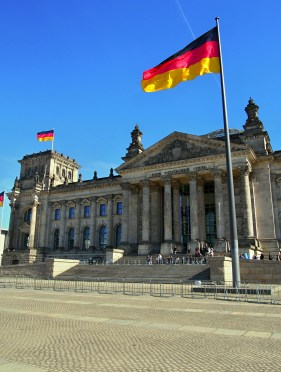 Reichstag - tam jsme se nedostaly Unfortunately we did not get there