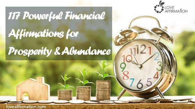 117 Proven Financial Affirmations for Prosperity & Abundance