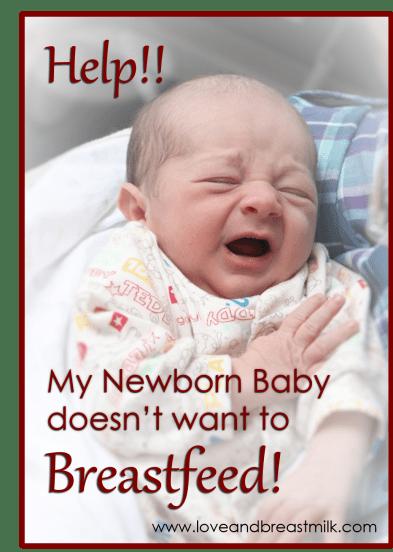 Newborn not BF
