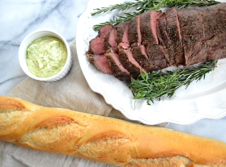 Herb-Roasted Filet of Beef