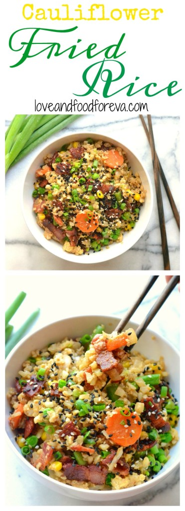 This recipe is a perfectly delicious, healthy, and fast alternative to traditional fried rice!