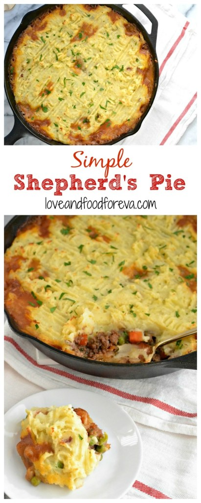 Looking for something new for your holiday menu? This Simple Shepherd's Pie is it! It's easy, comforting, and just what your guests are looking for!