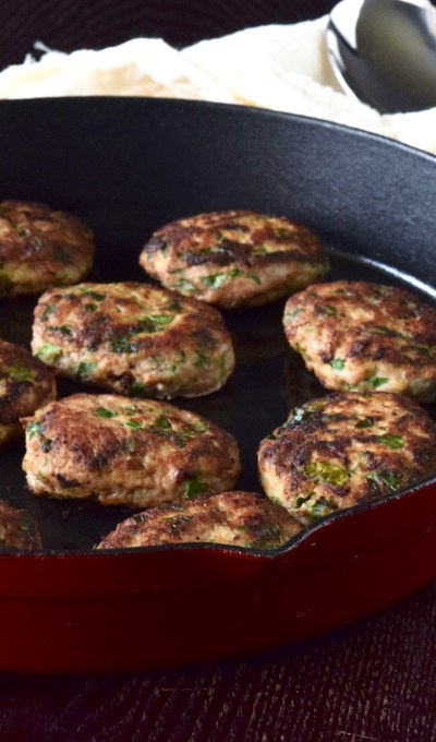 Ground Turkey Patties 'Kotleti""