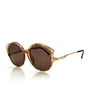 Christian Dior Vintage Sunglasses Rose Gold