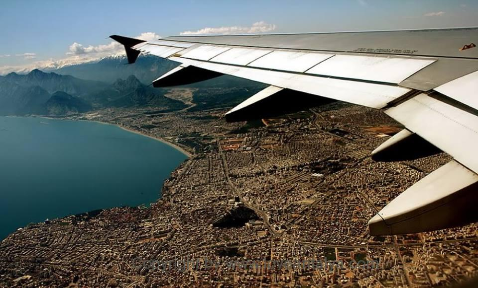 antalya from air