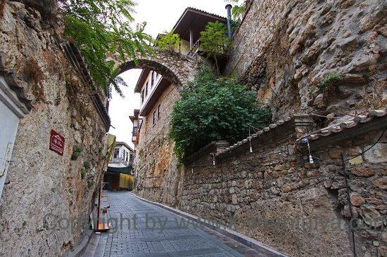 Streets of Kaleici, Antalya, Turkey