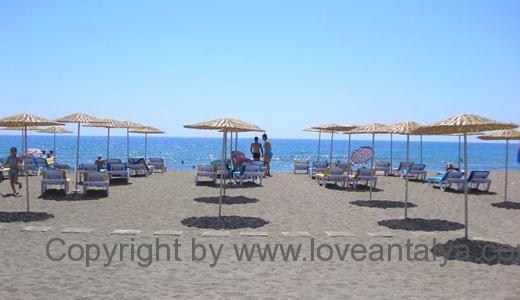 Konyaalti beash strand plaji