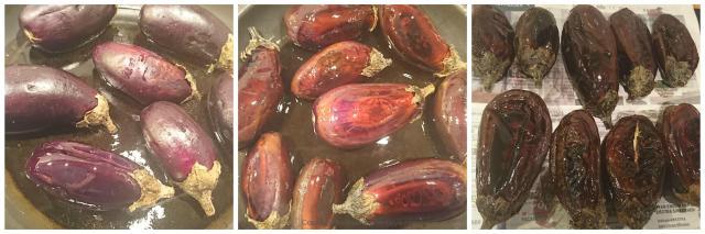 mini eggplants