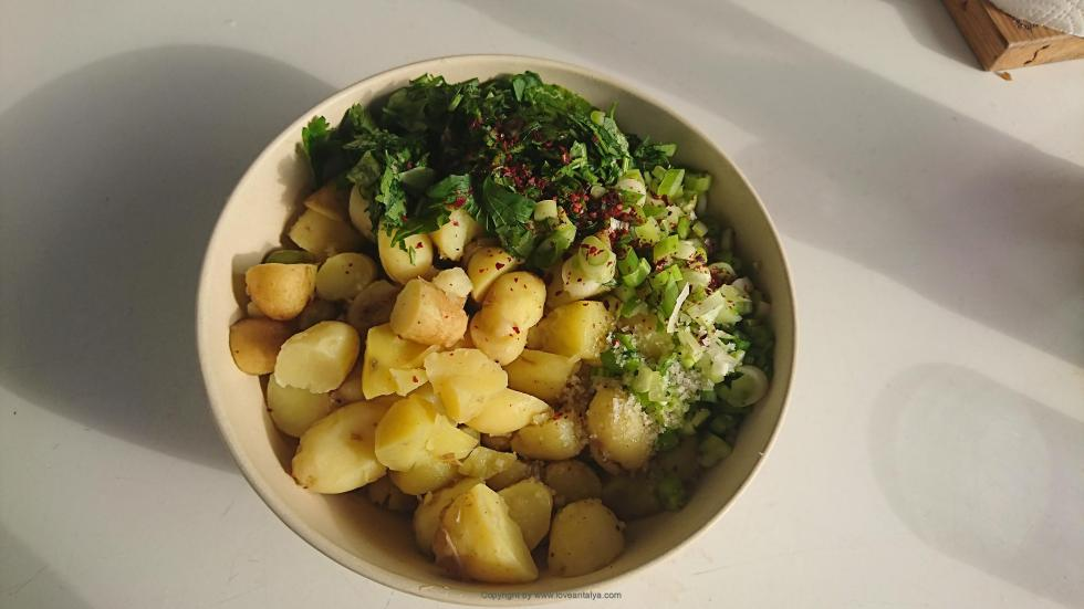turkish potato salad