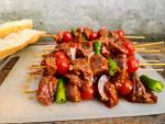 Turkish Shish kebab grill skewer