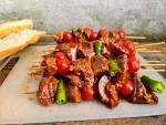 Turkish Shish kebab grill skewer