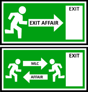 Exit Affair vs. MLC AffaIr