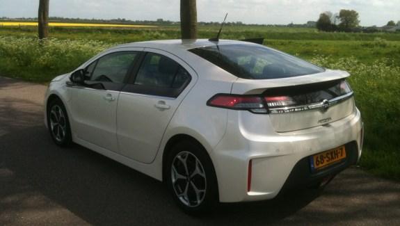 Opel Ampera Achterkant