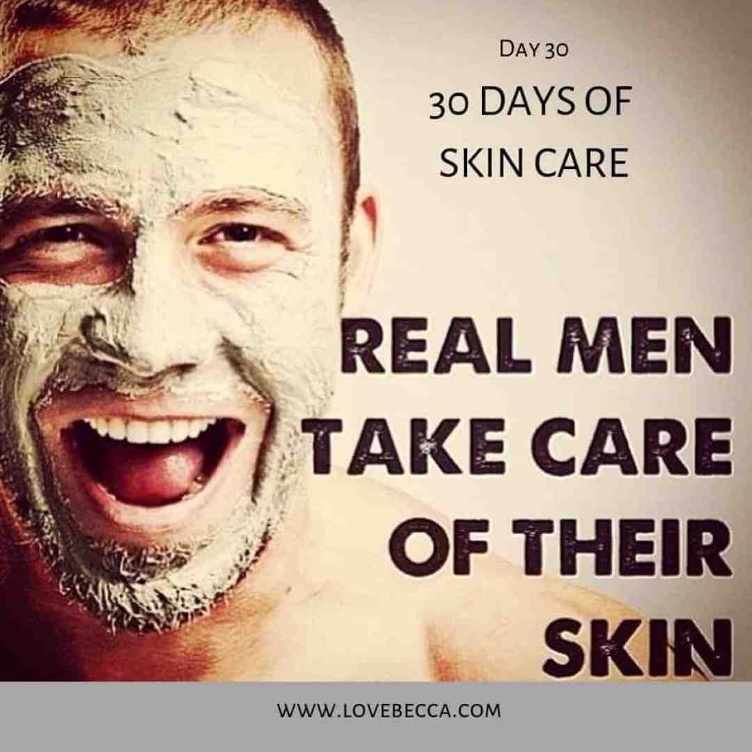 30 days of skin care
