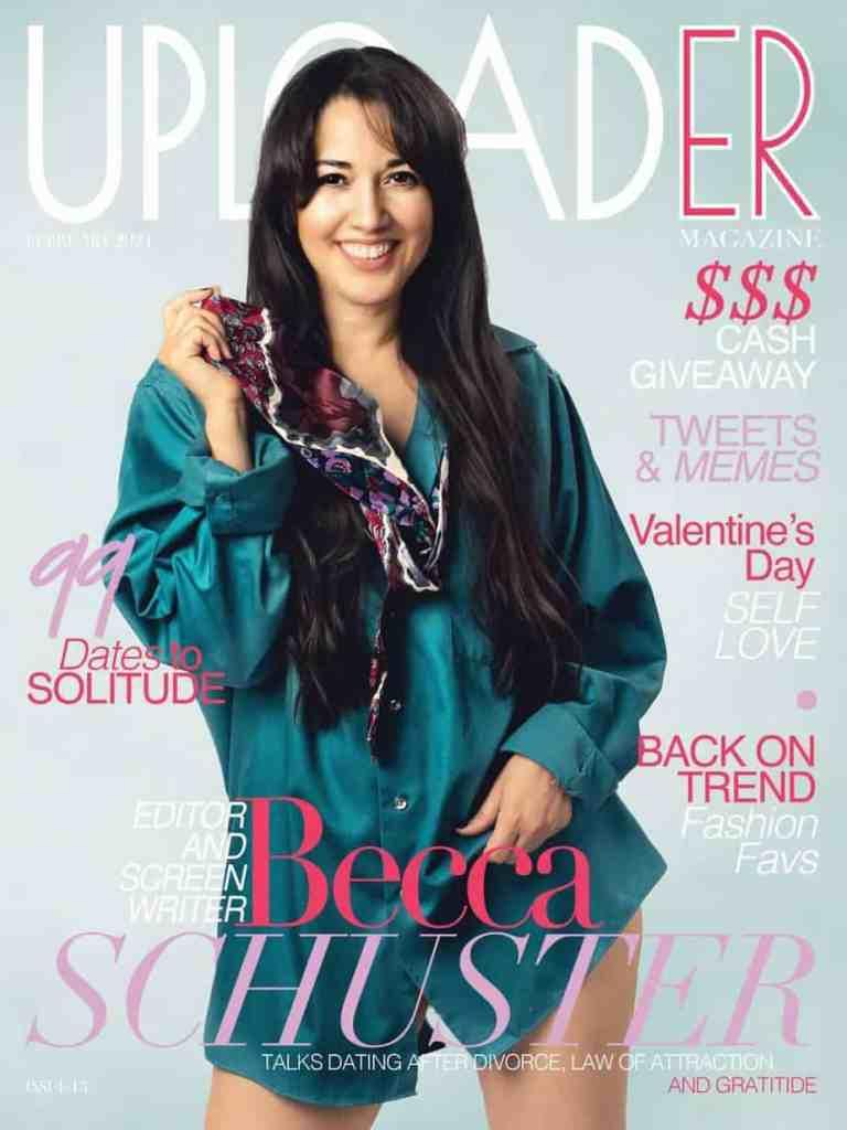Uploader magazine cover