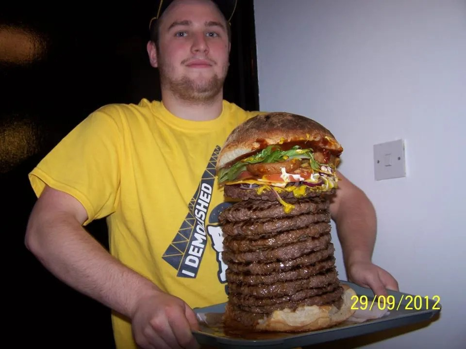 UK's biggest burger? THE BIG LAD'S DA!! from Belfast ...