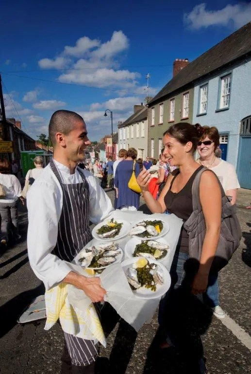 oyster tasting with chef