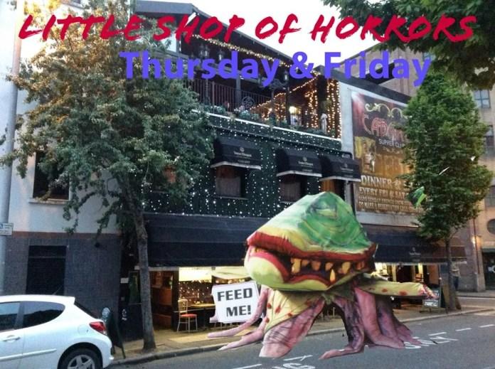 Little Shop of Horrors Cabaret Belfast