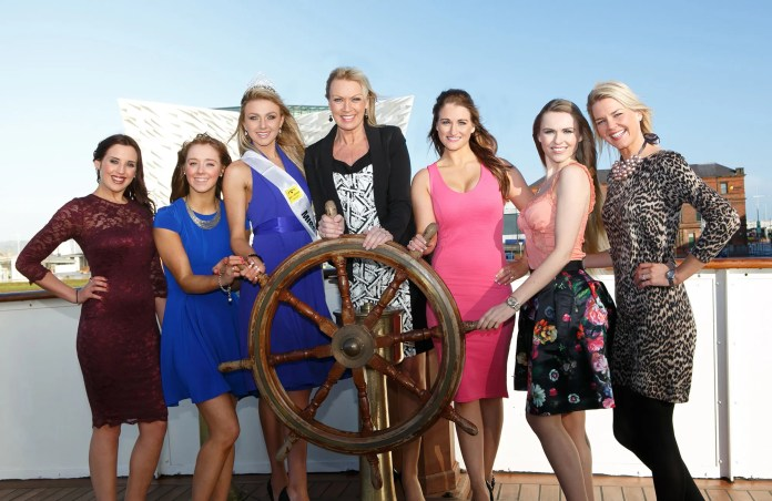 FORMER winners of the legendary Miss Northern Ireland contest joined event organiser Alison Clarke and guests on board the beautifully restored Nomadic Belfast to officially launch the 2014 Open + Direct Miss Northern Ireland contest