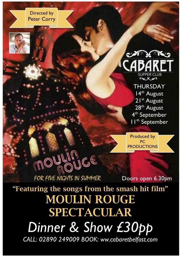 Moulin Rouge Cabaret Belfast