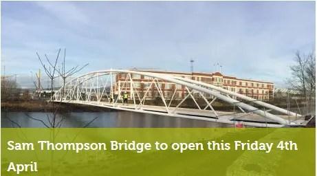 sam thompson bridge Belfast