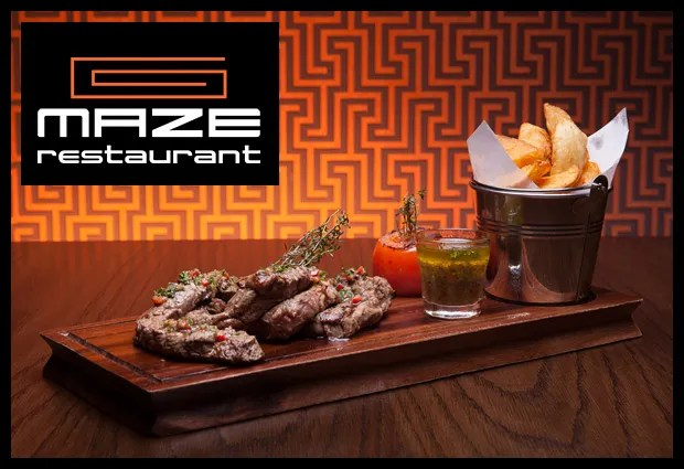 Maze restaurant Belfast