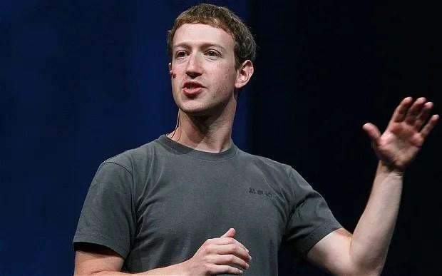 Mark Zuckenberg Facebook