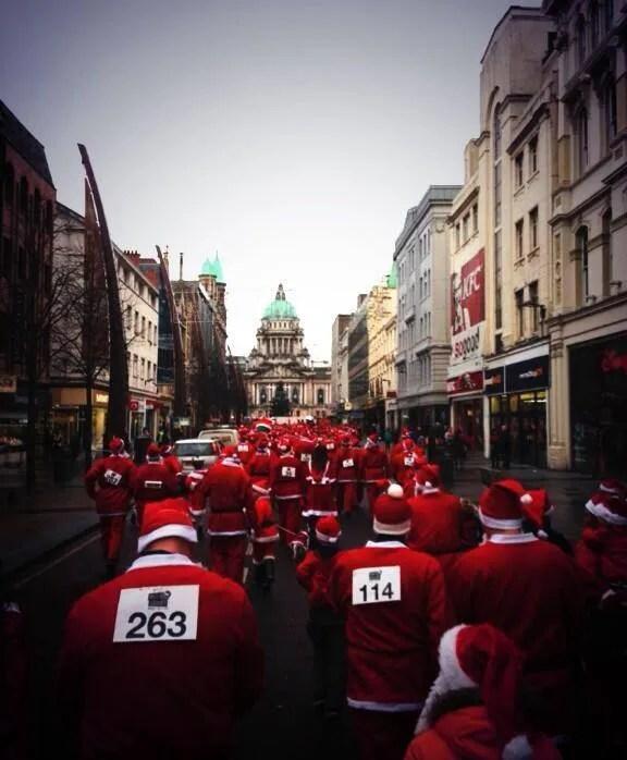 Santa Dash Belfast