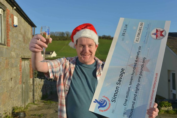 Lottery winner Simon Savage#2