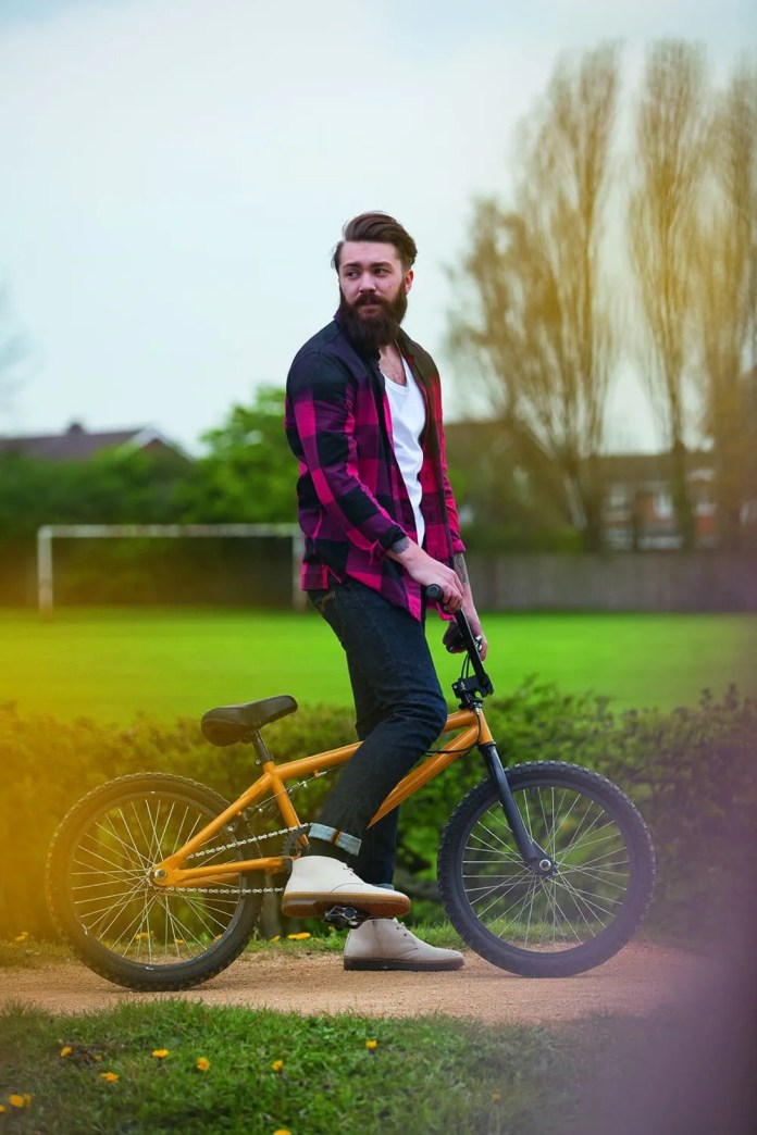 Dr. Martens SS15 character Sam Lowerson from Newcastle