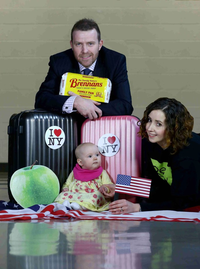Colin Todd of Brennans Bread joins Doireann McKenna from Belfast based children's theatre group Replay