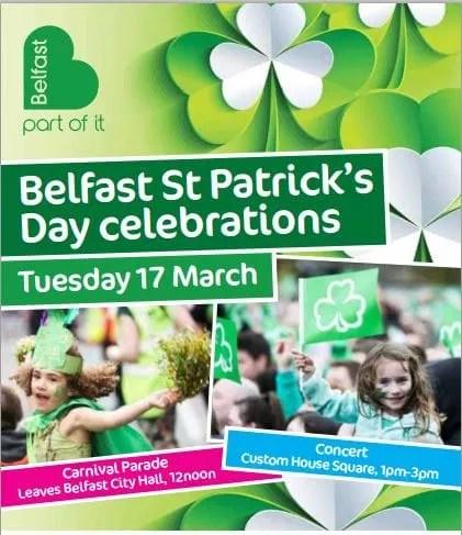 st patricks day Belfast
