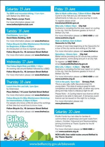 Belfast Bike Week