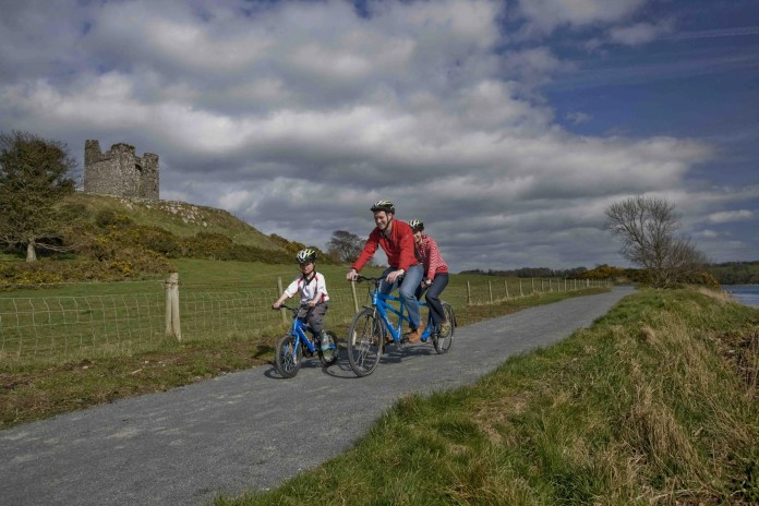 Family Day out At Castleward Cycle Trail