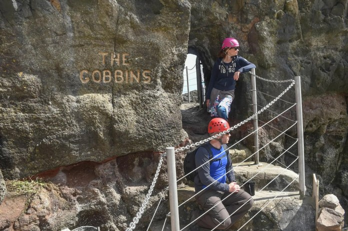 Gobbins Modern Visit Pic