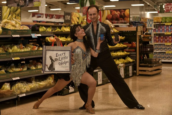 TESCO does Strictly Come Shopping … one of the campaigns that has won SERIOUS PR a UK Gold in this year's Corporate Vision Marketing, PR & Communications' awards.