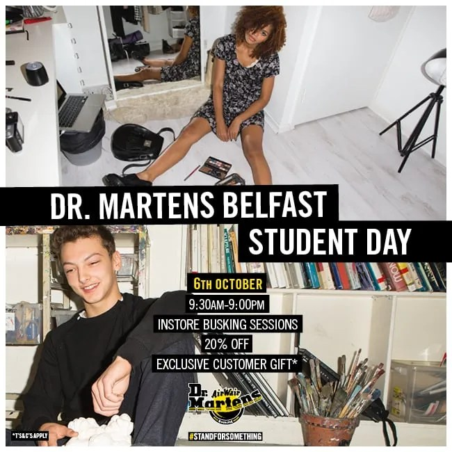 AW15 BELFAST STUDENT DAY FB