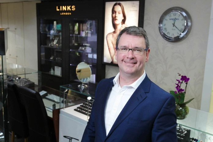 Midas Jewellers' proprietor, Jim Conlon
