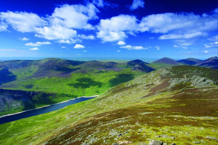 The Mourne Moutnains are among the most famous of the mountains on the island of Ireland. The surrounding area is an Area of Outstanding Natural Beauty and is proposed as the first National Park in Northern Ireland.