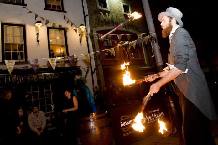 McHughs Bar Love Belfast