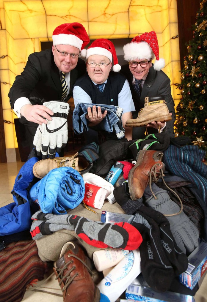 CHRISTMAS APPEAL TO HELP THE HOMELESS