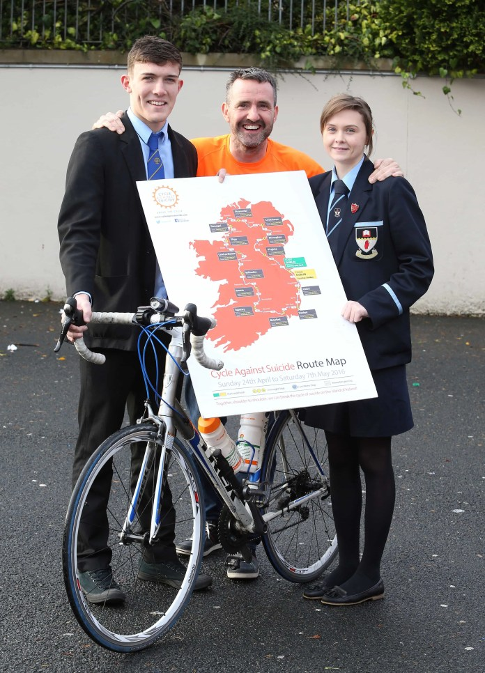 Cycle Against Suicide Launches Epic Round-Ireland Suicide Awaren