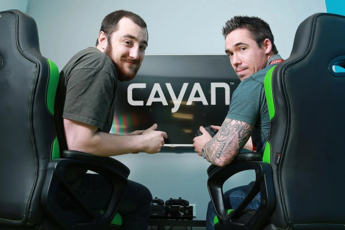 Cayan -Online Gaming Area in Belfast Office