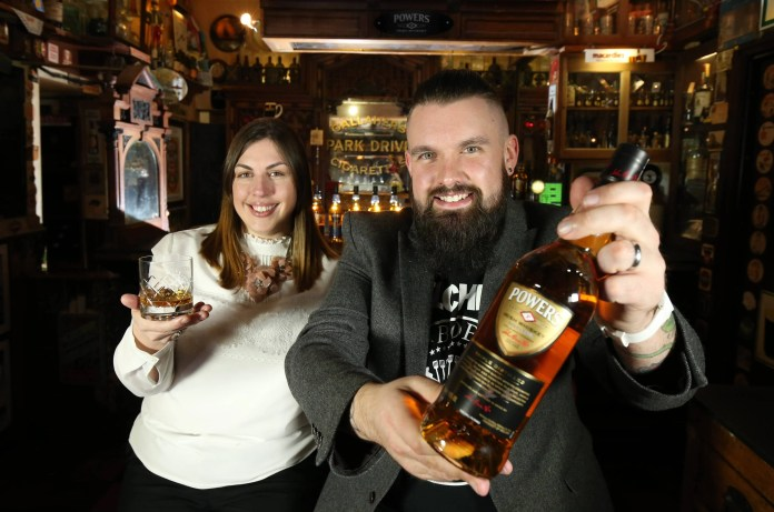 Whiskey lovers in Northern Ireland are being given the chance to turn their passion for whiskey into an exciting new career opportunity. Dillon Bass – owners of the largest portfolio of leading Irish whiskey brands in Northern Ireland - has launched a search for a new Powers Irish Whiskey Ambassador. The recruitment campaign, which launched on Tuesday 1st March 2016, is calling on whiskey aficionados to ditch the desk job and come forward and apply for the exciting new role. Powers Irish Whiskey is owned by Dillon Bass in Northern Ireland. This is a full-time fixed term role with Dillon Bass in Belfast. For further information and to submit an application, interested parties should visit www.dillonbass.co.uk/powersambassador The deadline for applications is 12pm on Monday 21st March 2016. Pictured L-R: Sarah Harvey, Powers Brand Manager at Dillon Bass & Joel Neill, Operations Director, Hospitality Ulster .