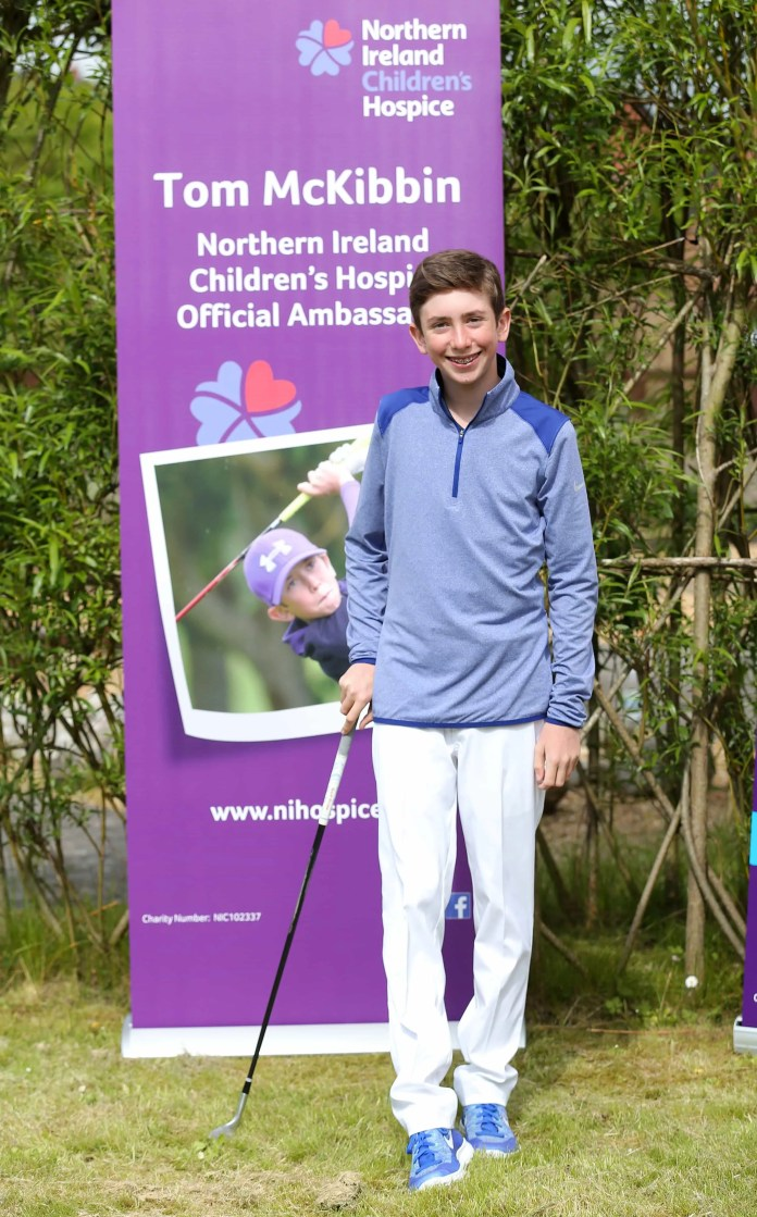 Tom McKibbin joins NI Children's Hospice as ambassador1