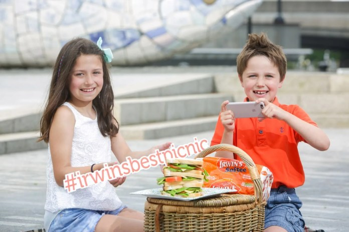 Could your picnic be the best in NI? It's National Picnic Week 13th-19th June and the hunt is on for Northern Ireland's ultimate picnic! To celebrate National Picnic Week and the Year of Food and Drink, Irwin's Bakery, alongside Tourism NI, is calling on the public to nominate Northern Ireland's best picnic by sharing a photo on Twitter, Facebook or Instagram using the hashtag #irwinsbestpicnic. Four finalists will be chosen and the public will have the chance to vote for the winner. For more details and the full terms and conditions, visit www.irwinsbakery.com/competition. Pictured enjoying a picnic at the 'Big Fish' in Belfast City Centre is brother and sister Conall (age 6) and Clodagh Wilson (age 8).