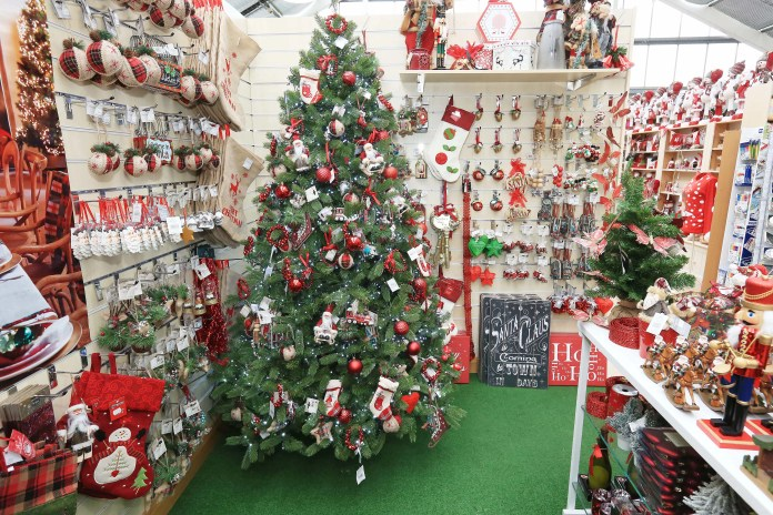 Christmas Trees and Decorations at Hillmount Garden Centre