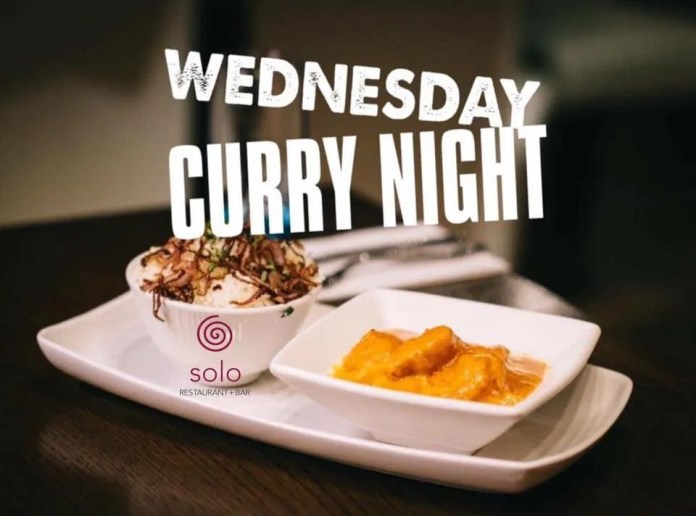 SOLO Curry Night